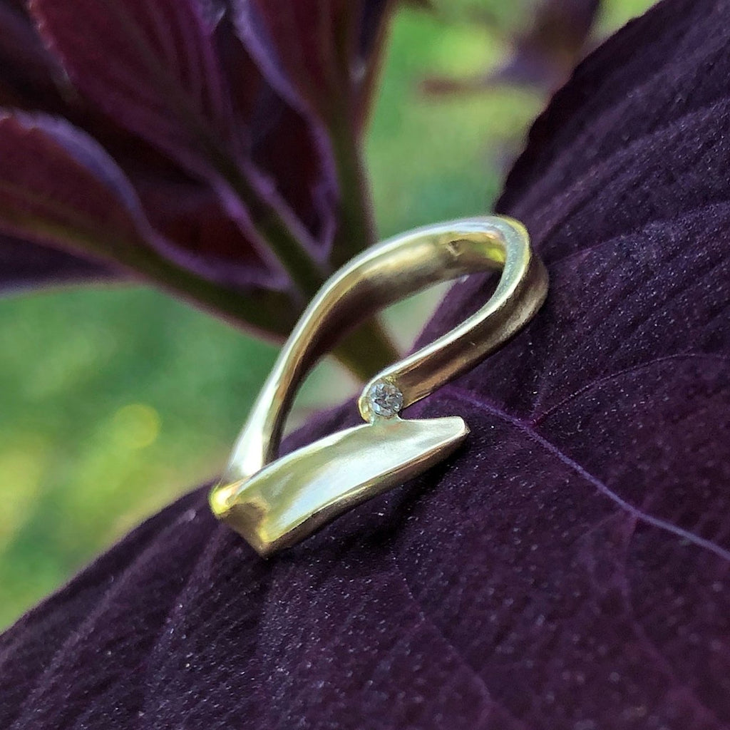 Simple Tendril Band - InBloomJewelry