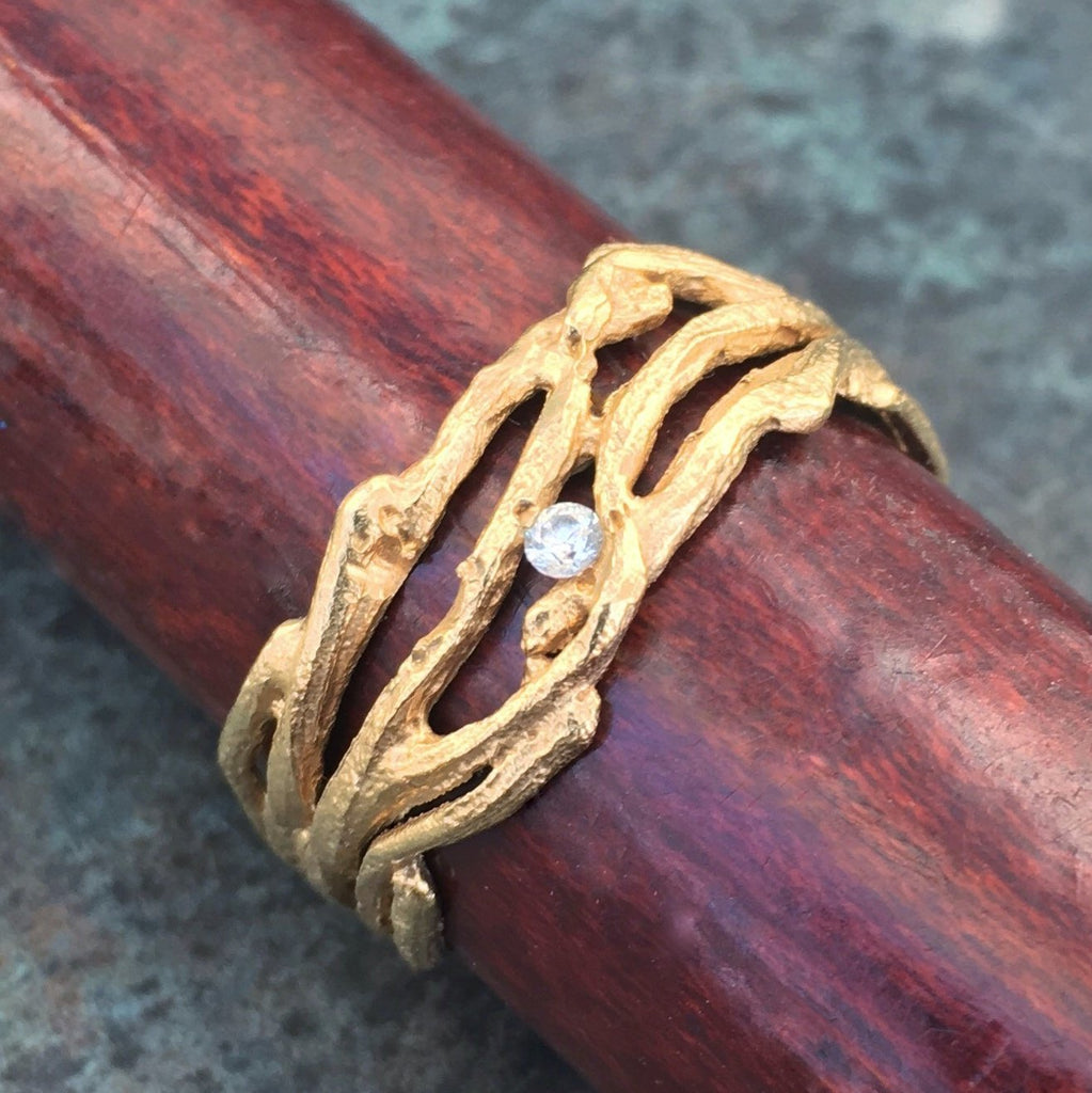 Small Multi-Branch Ring - InBloomJewelry