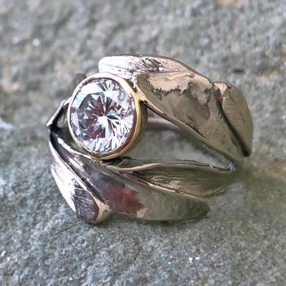 Small Sage Ring - InBloomJewelry