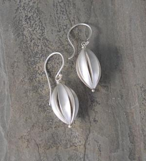 Split Pod Large Earrings - InBloomJewelry