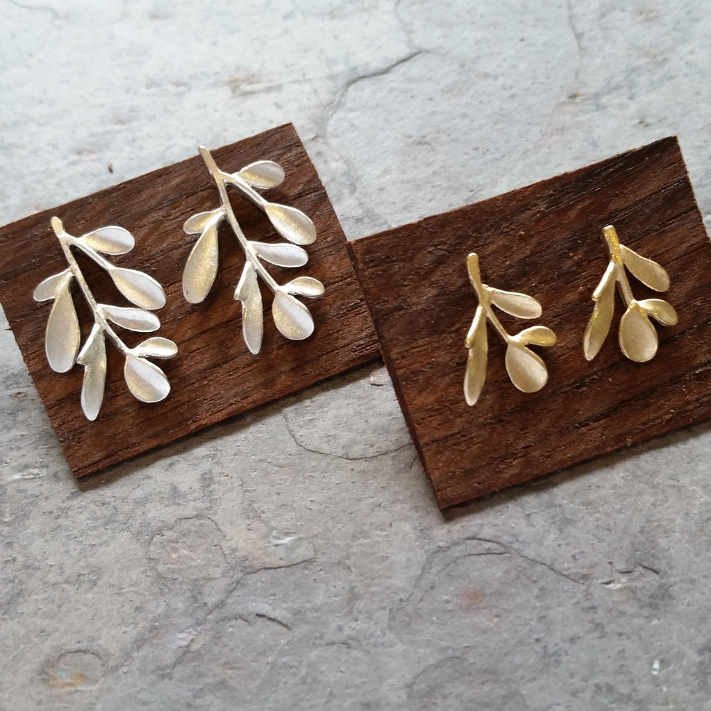 Vine Post Earrings - InBloomJewelry