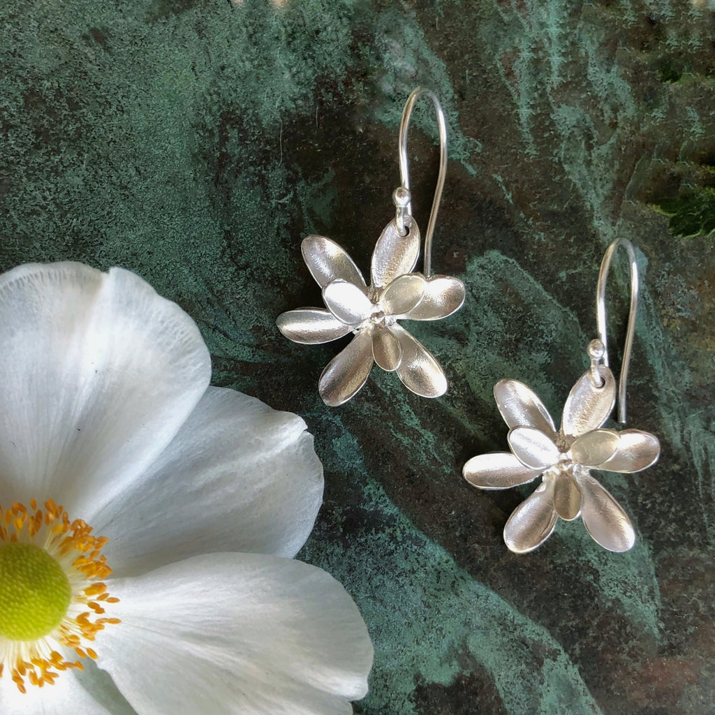 Windflower Large Earrings - InBloomJewelry