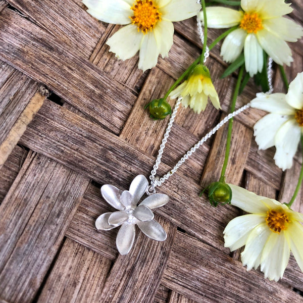 WindFlower Large Pendant - InBloomJewelry