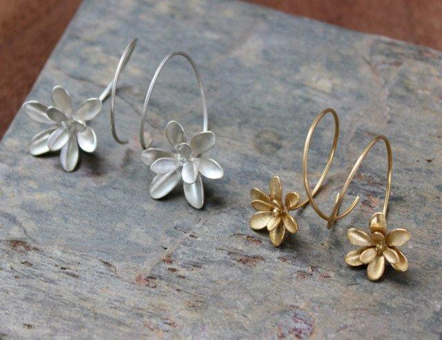 Windflower Small Earrings - InBloomJewelry