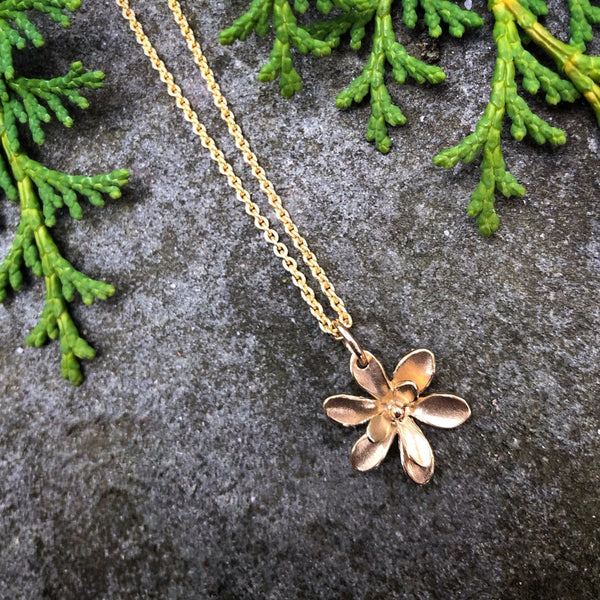 Windflower Small Pendant - InBloomJewelry