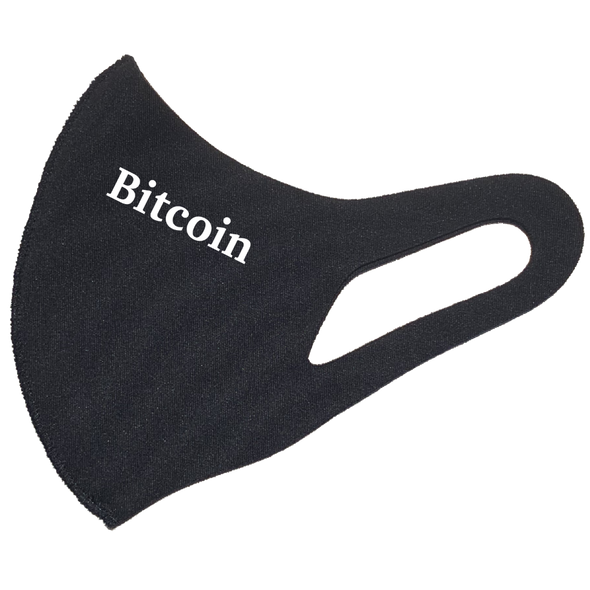 Bitcoin Face Mask 3D PM2.5   - zeroconfs