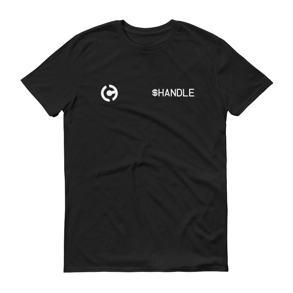 HandCash Official Customizable Short-Sleeve T-Shirt 2XL Black - zeroconfs