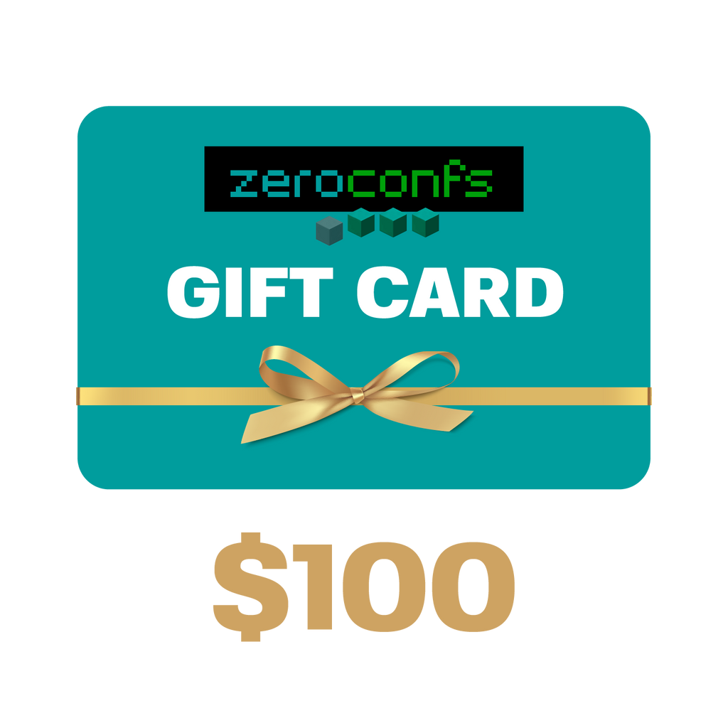 Gift Card $100 USD  - zeroconfs