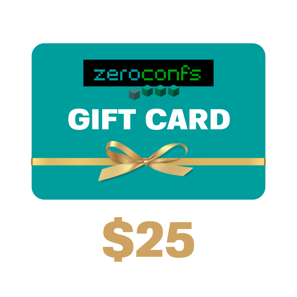 Gift Card $25 USD  - zeroconfs