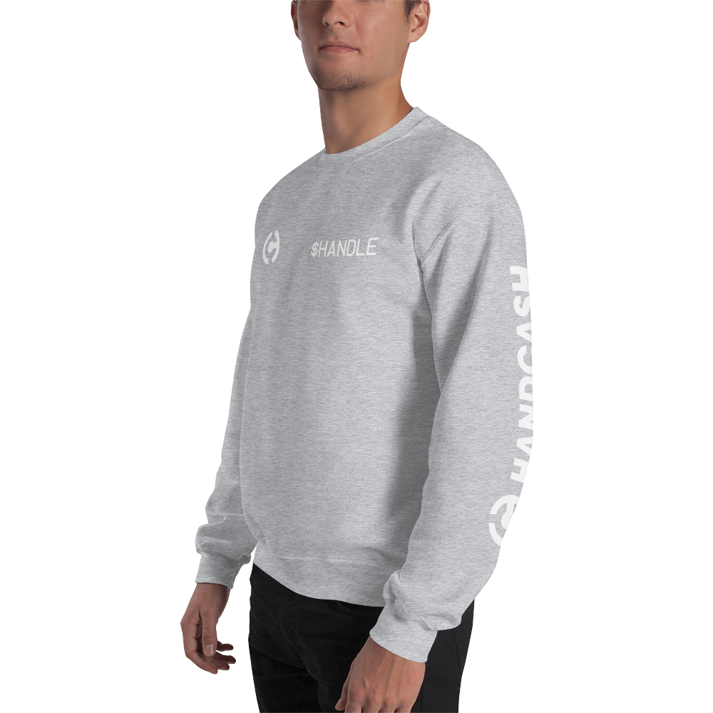 HandCash Official Customizable Sweatshirt   - zeroconfs