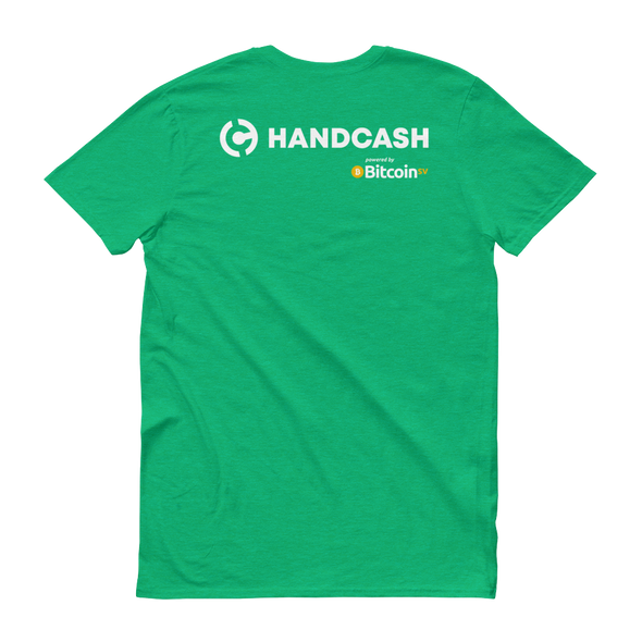 HandCash Official Customizable Women's Short Sleeve T-Shirt   - zeroconfs