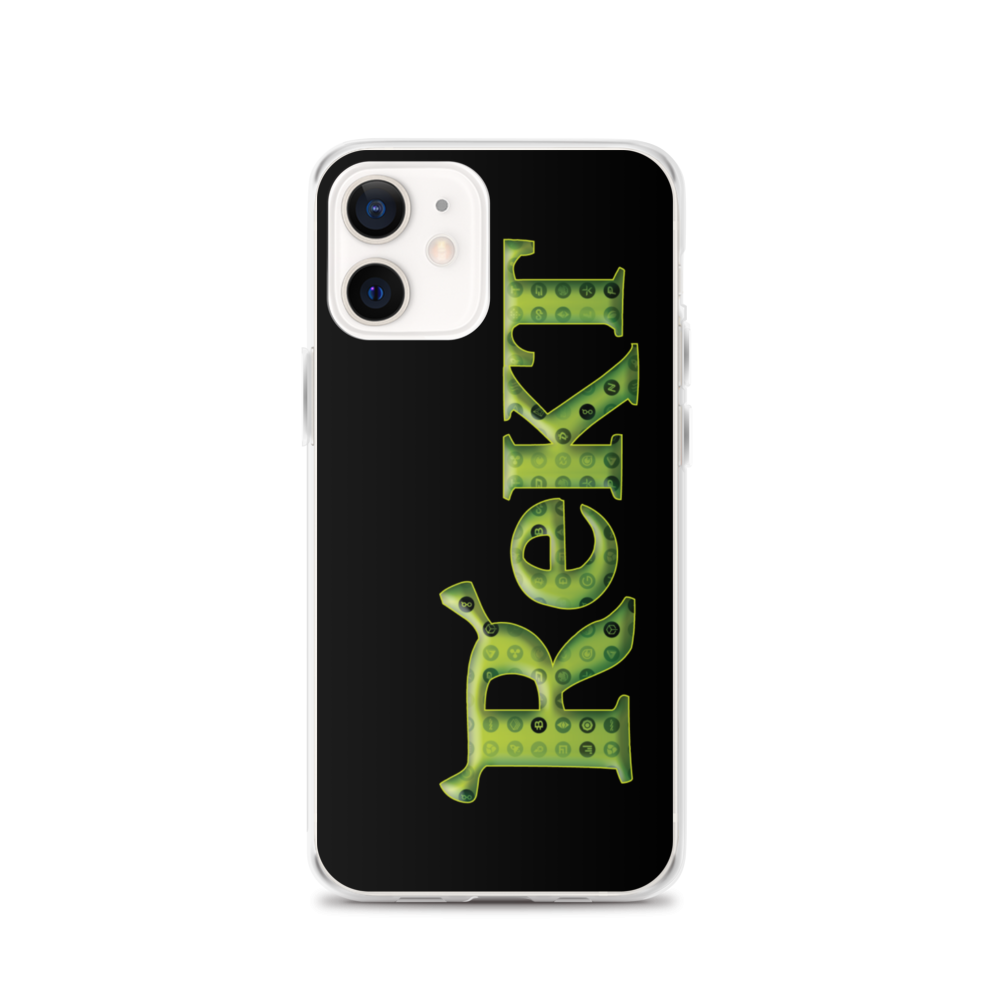 Rekt Crypto iPhone Case iPhone 12  - zeroconfs