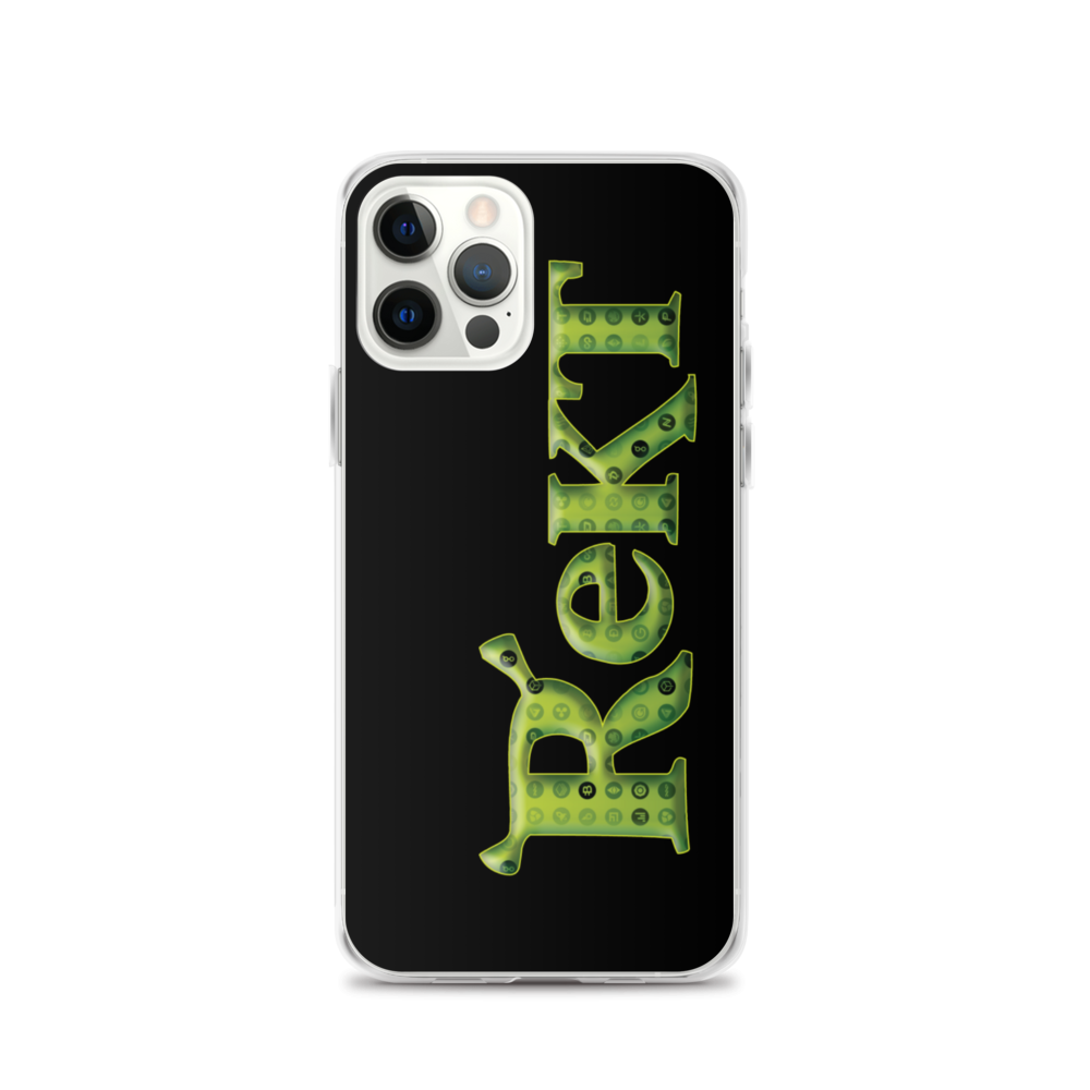 Rekt Crypto iPhone Case iPhone 12 Pro  - zeroconfs