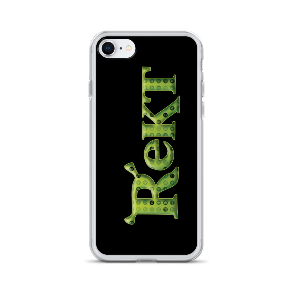 Rekt Crypto iPhone Case iPhone SE  - zeroconfs