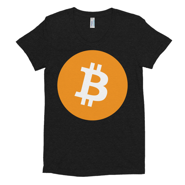 Bitcoin Core Women's Crew Neck T-shirt Tri-Black S - zeroconfs
