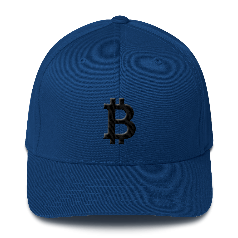 Bitcoin Blacknet SE Flexfit Cap Royal Blue S/M - zeroconfs