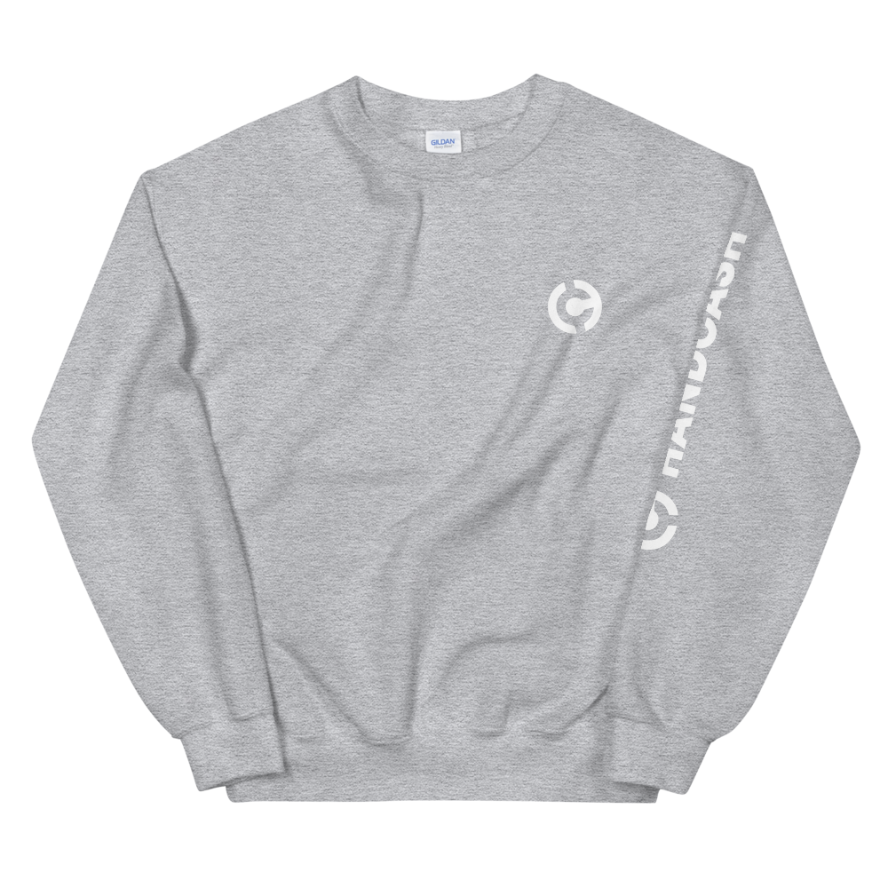 HandCash Official Women's Sweatshirt Sport Grey S - zeroconfs