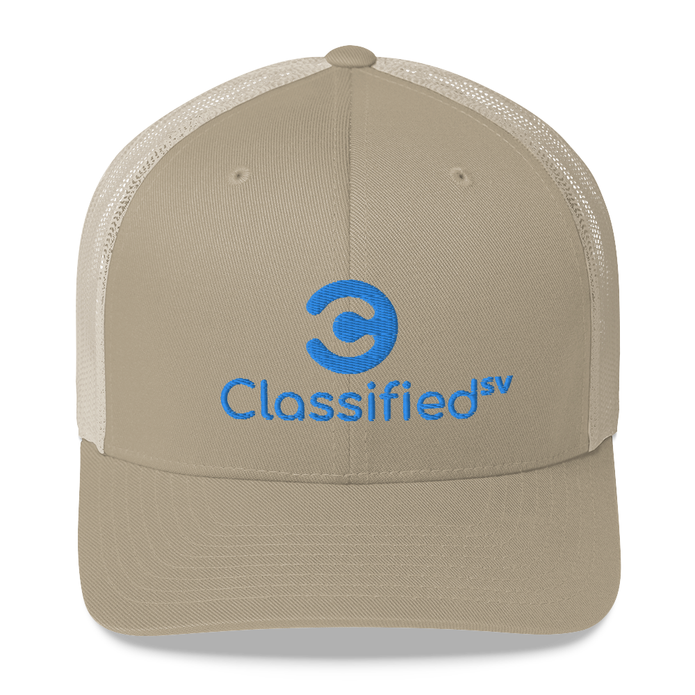 Classified SV Trucker Cap Khaki  - zeroconfs