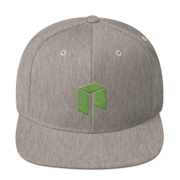 NEO Snapback Hat Heather Grey  - zeroconfs