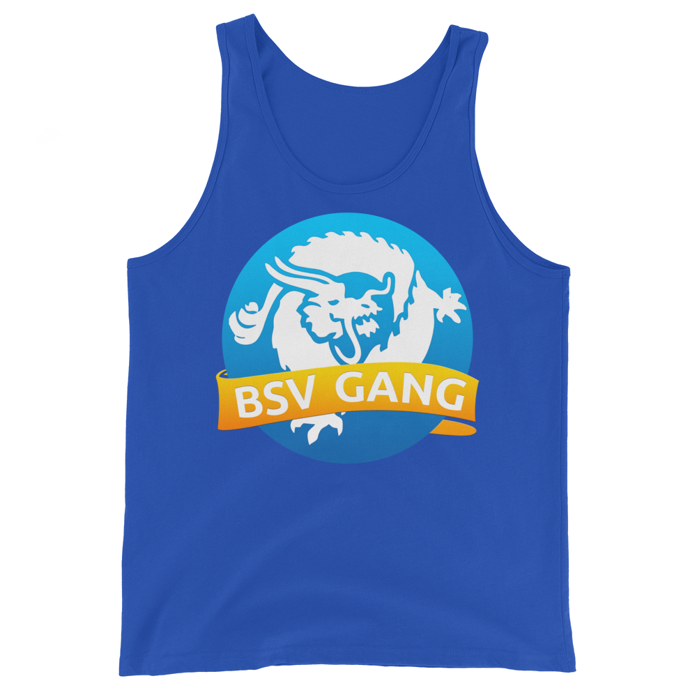 Bitcoin SV Gang Tank Top True Royal XS - zeroconfs