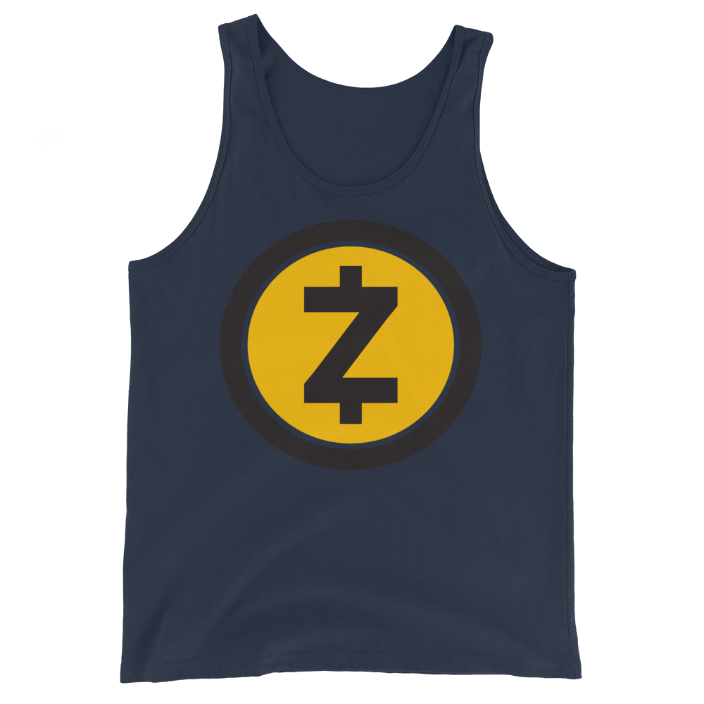 Zcash Tank Top Navy XS - zeroconfs