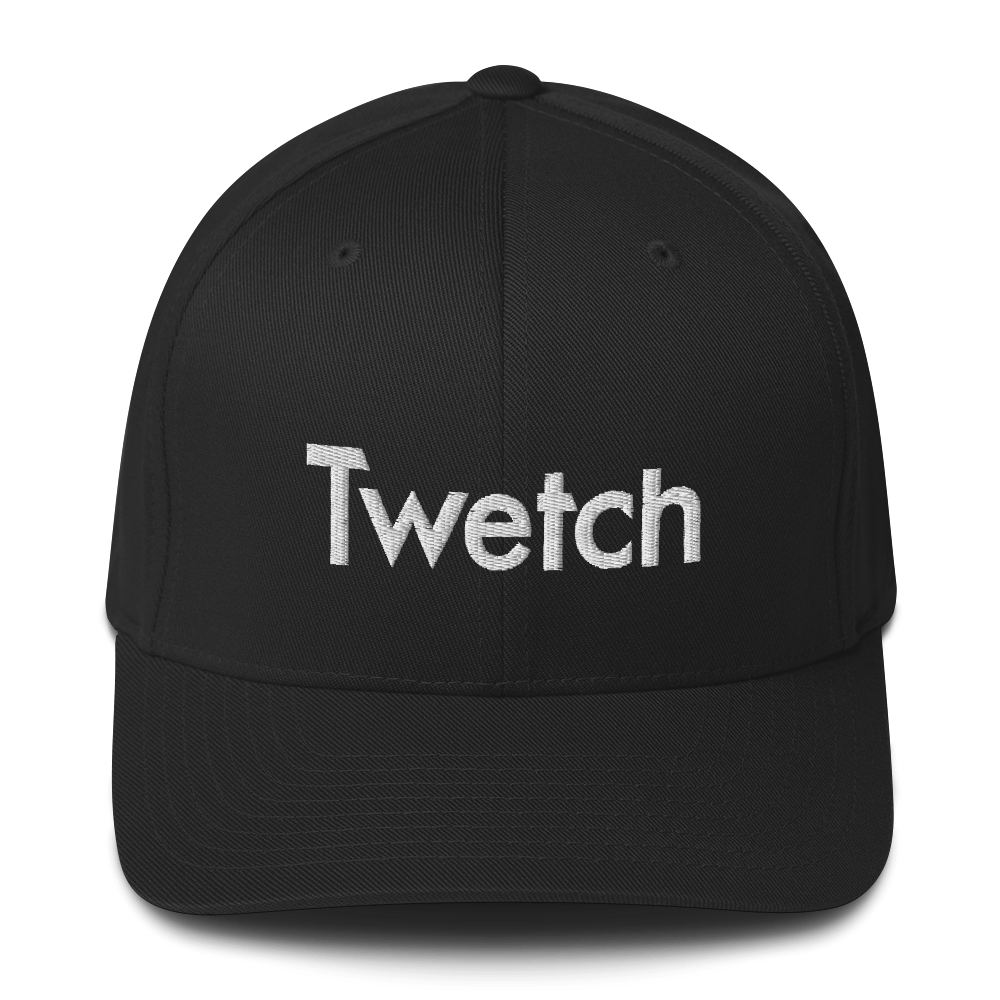 Twetch Flexfit Cap Black S/M - zeroconfs
