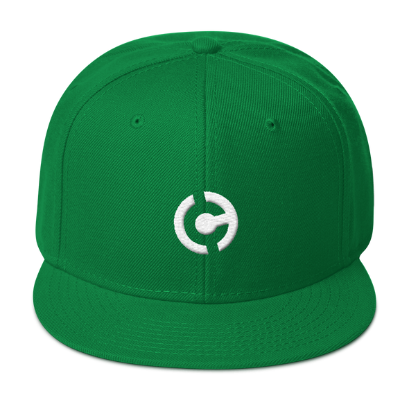 HandCash Official Licensed Snapback Hat Kelly Green  - zeroconfs