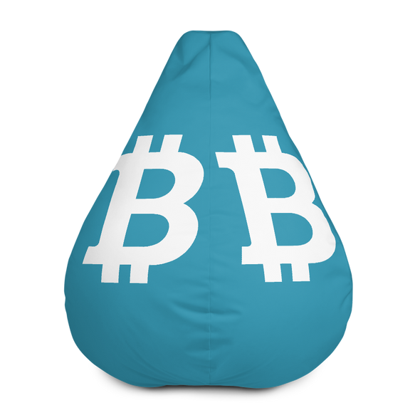Bitcoin SV Blue Bean Bag Cover Only Default Title  - zeroconfs