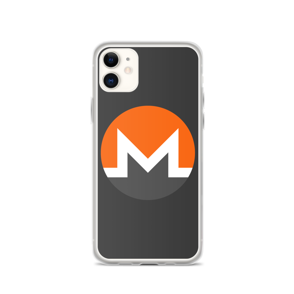 Monero iPhone Case iPhone 11  - zeroconfs