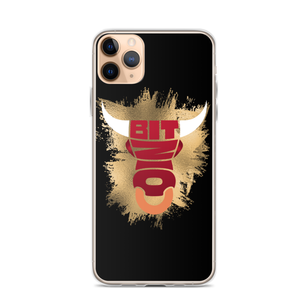Bitcoin Bull iPhone Case iPhone 11 Pro Max  - zeroconfs