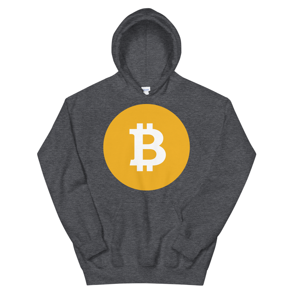 Bitcoin SV Logo Women's Hooded Sweatshirt Dark Heather S - zeroconfs