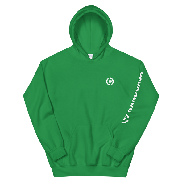 HandCash Official Licensed Women's Hooded Sweatshirt Irish Green S - zeroconfs
