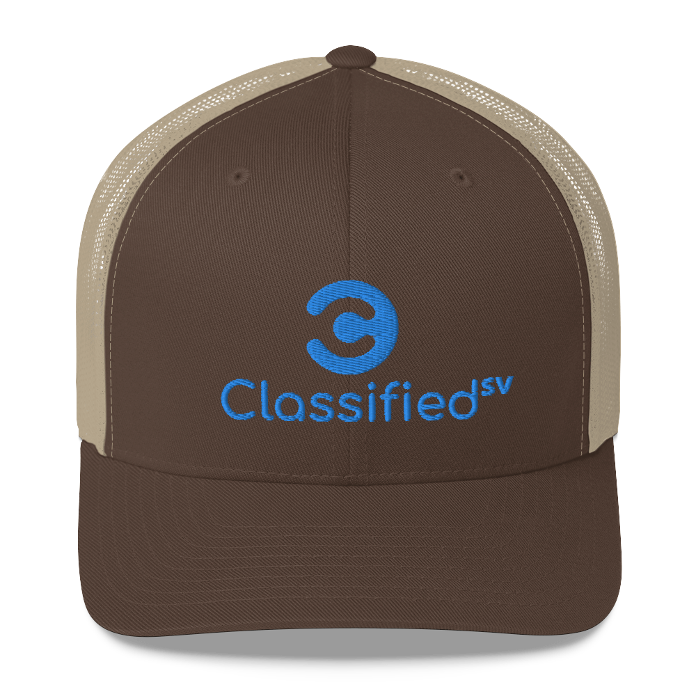 Classified SV Trucker Cap Brown/ Khaki  - zeroconfs
