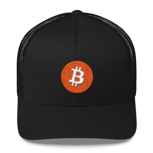 Bitcoin Core Trucker Cap Black  - zeroconfs