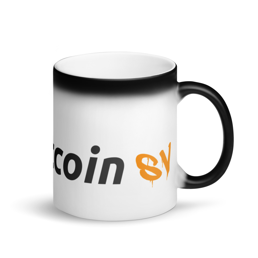 Try Bitcoin SV Magic Mug Default Title  - zeroconfs