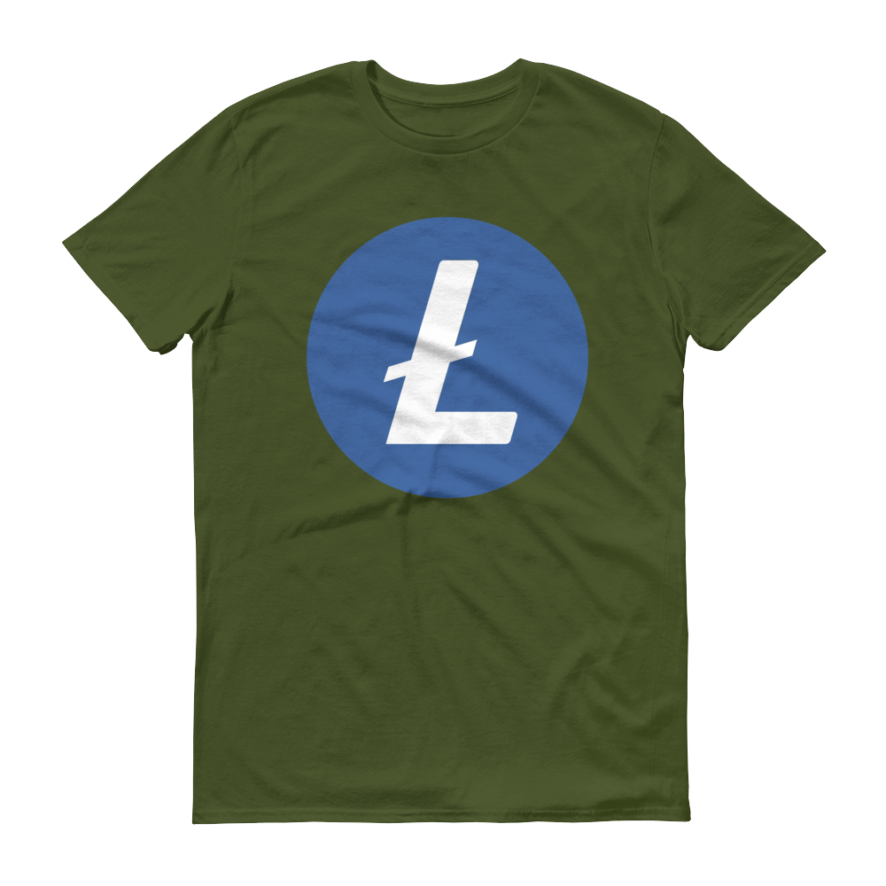 Litecoin Short-Sleeve T-Shirt City Green S - zeroconfs