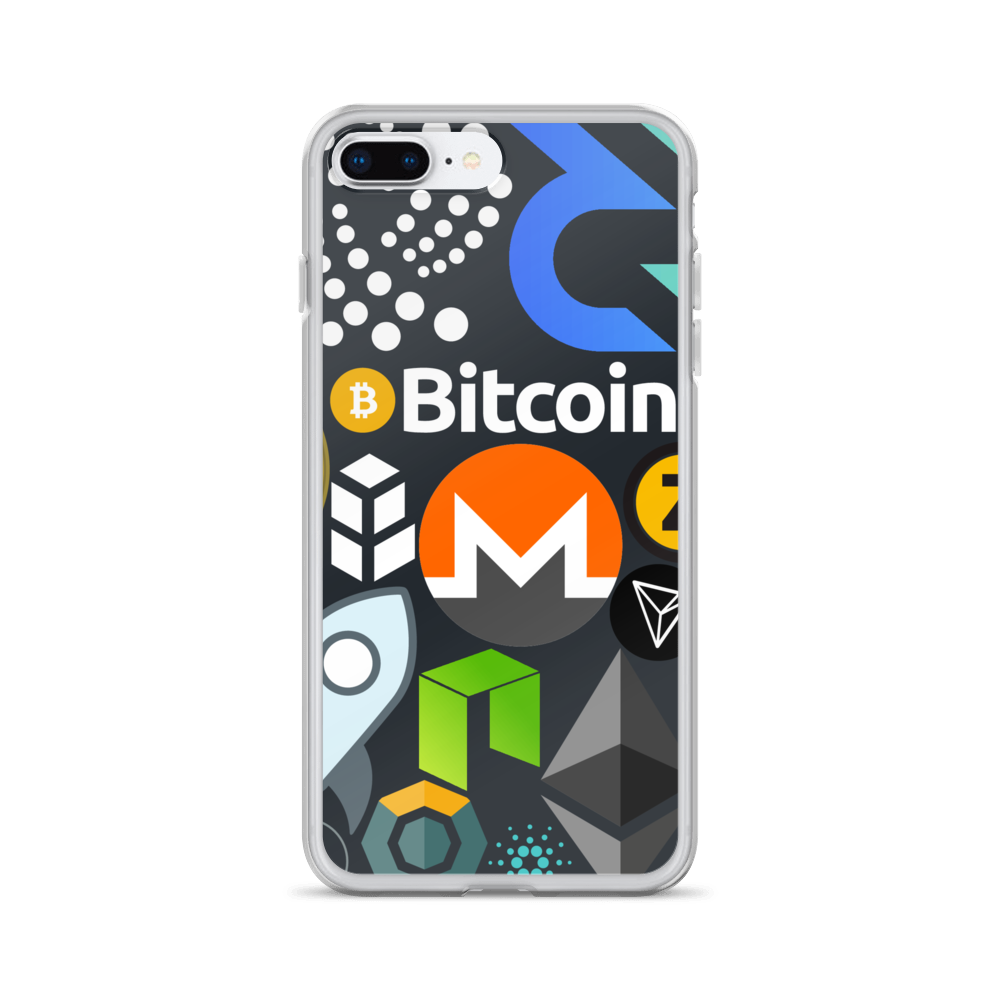 Crypto Calling iPhone Case iPhone 7 Plus/8 Plus  - zeroconfs