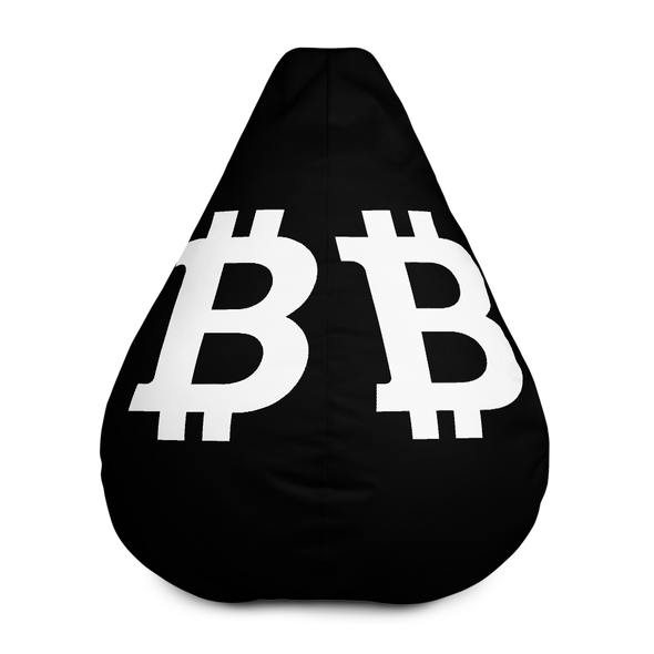Bitcoin SV Black Bean Bag Cover Only Default Title  - zeroconfs