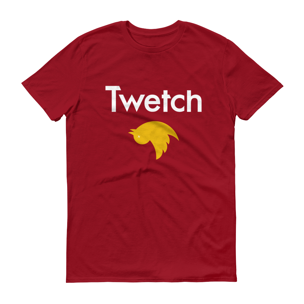 Twetch by Bitcoin SV Short-Sleeve T-Shirt Independence Red S - zeroconfs