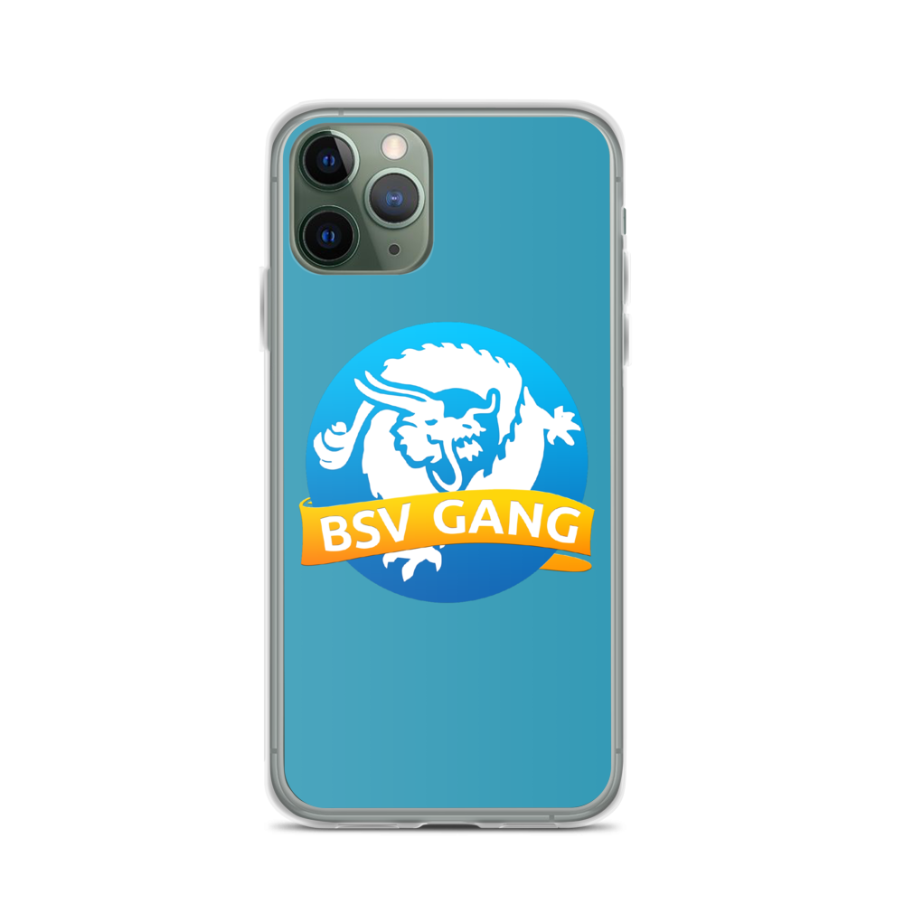 Bitcoin SV Gang iPhone Case Blue iPhone 11 Pro  - zeroconfs