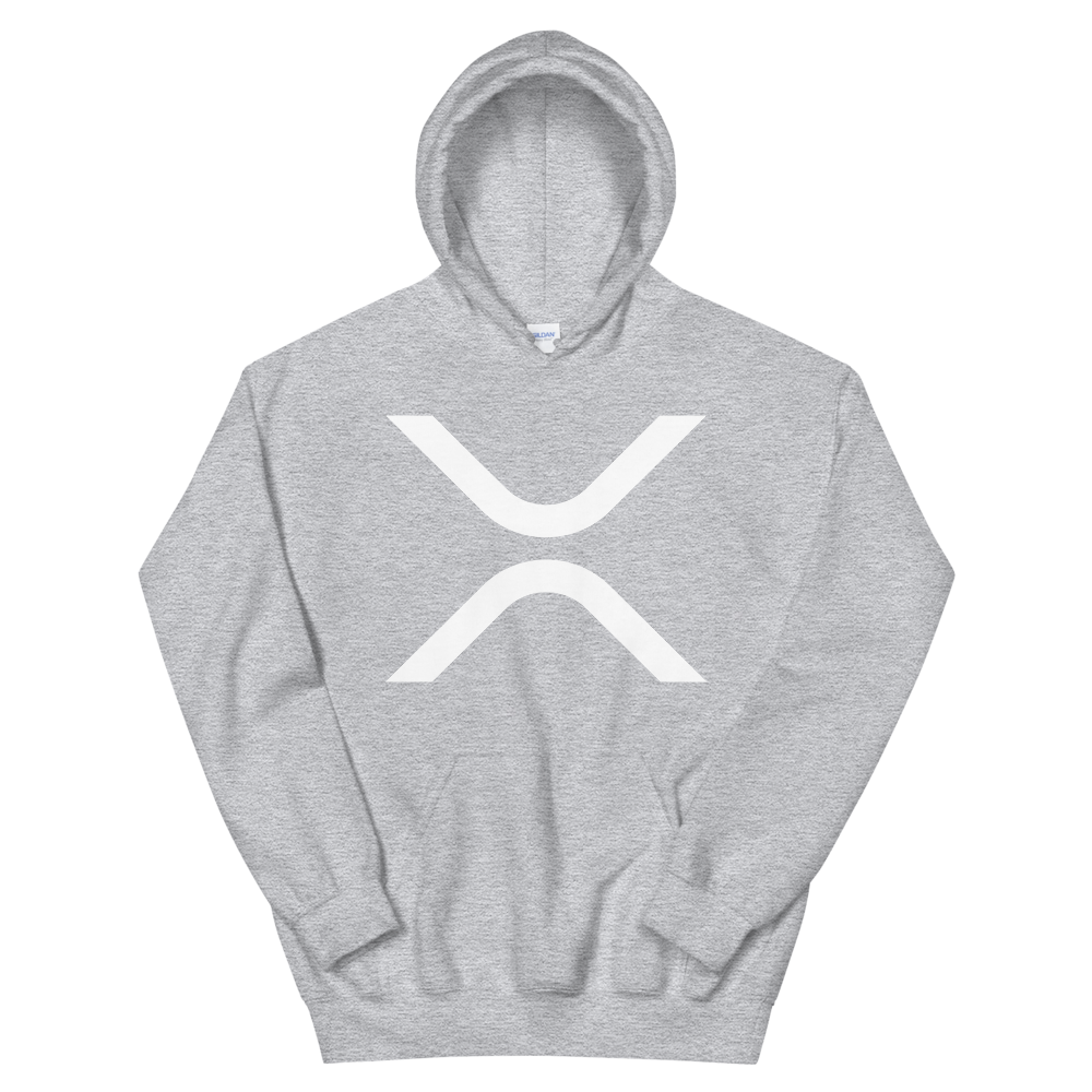 Ripple Hooded Sweatshirt Sport Grey S - zeroconfs