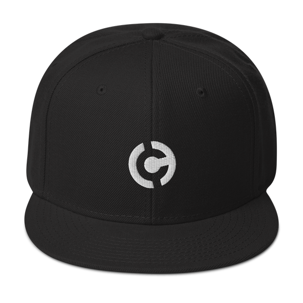 HandCash Official Licensed Snapback Hat Black  - zeroconfs