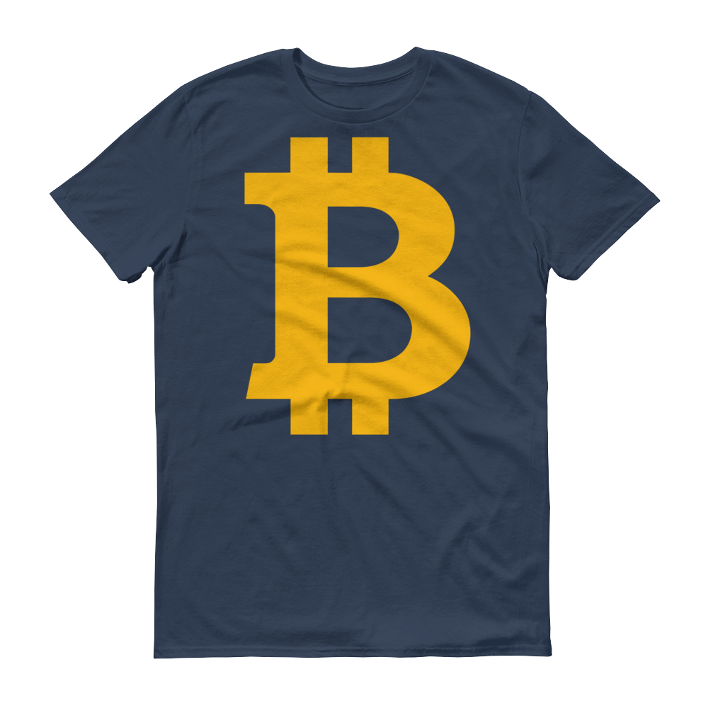 Bitcoin B Short-Sleeve T-Shirt Lake S - zeroconfs