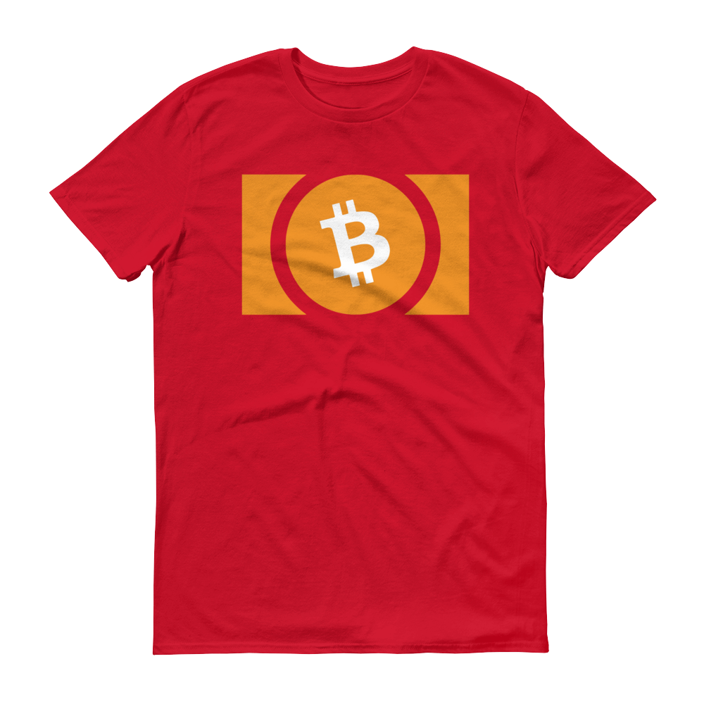 Bitcoin Cash Short-Sleeve T-Shirt Red S - zeroconfs