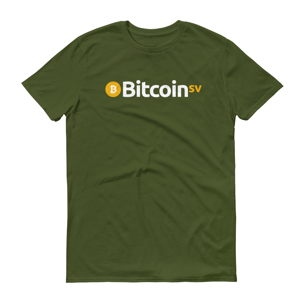 Bitcoin SV Short-Sleeve T-Shirt City Green S - zeroconfs