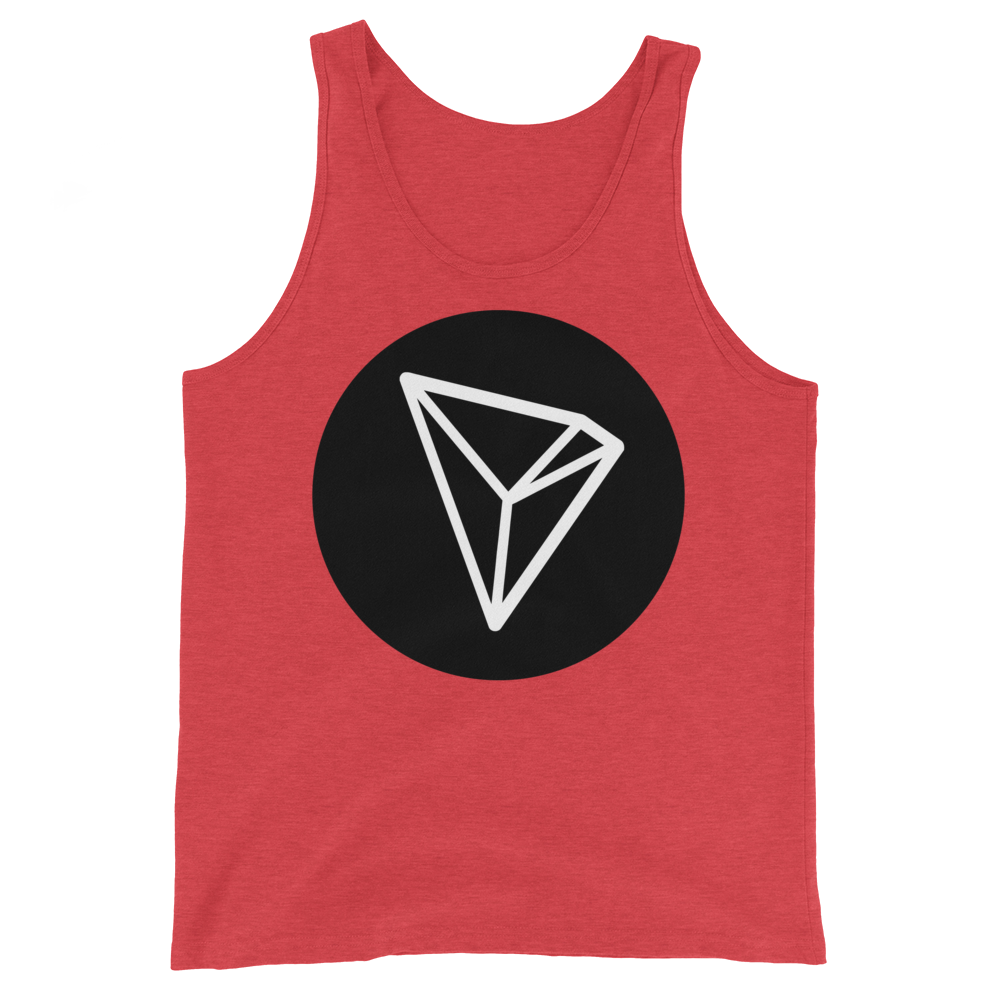 Tron Tank Top Red Triblend XS - zeroconfs