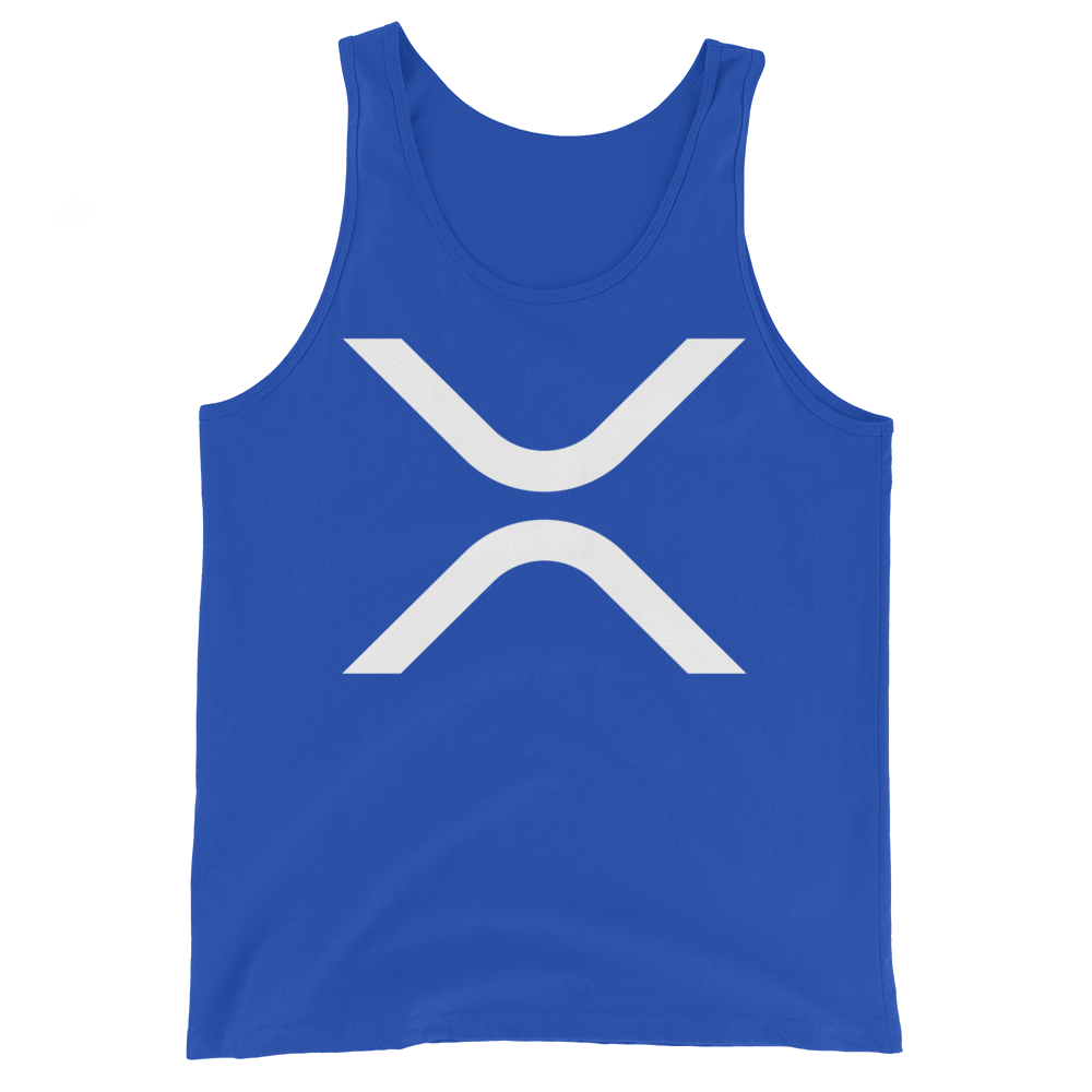 Ripple Tank Top True Royal XS - zeroconfs