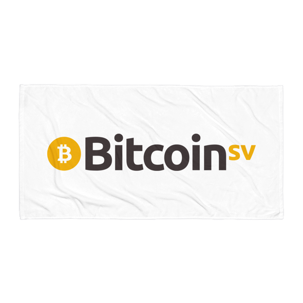 Bitcoin SV Beach Towel Default Title  - zeroconfs