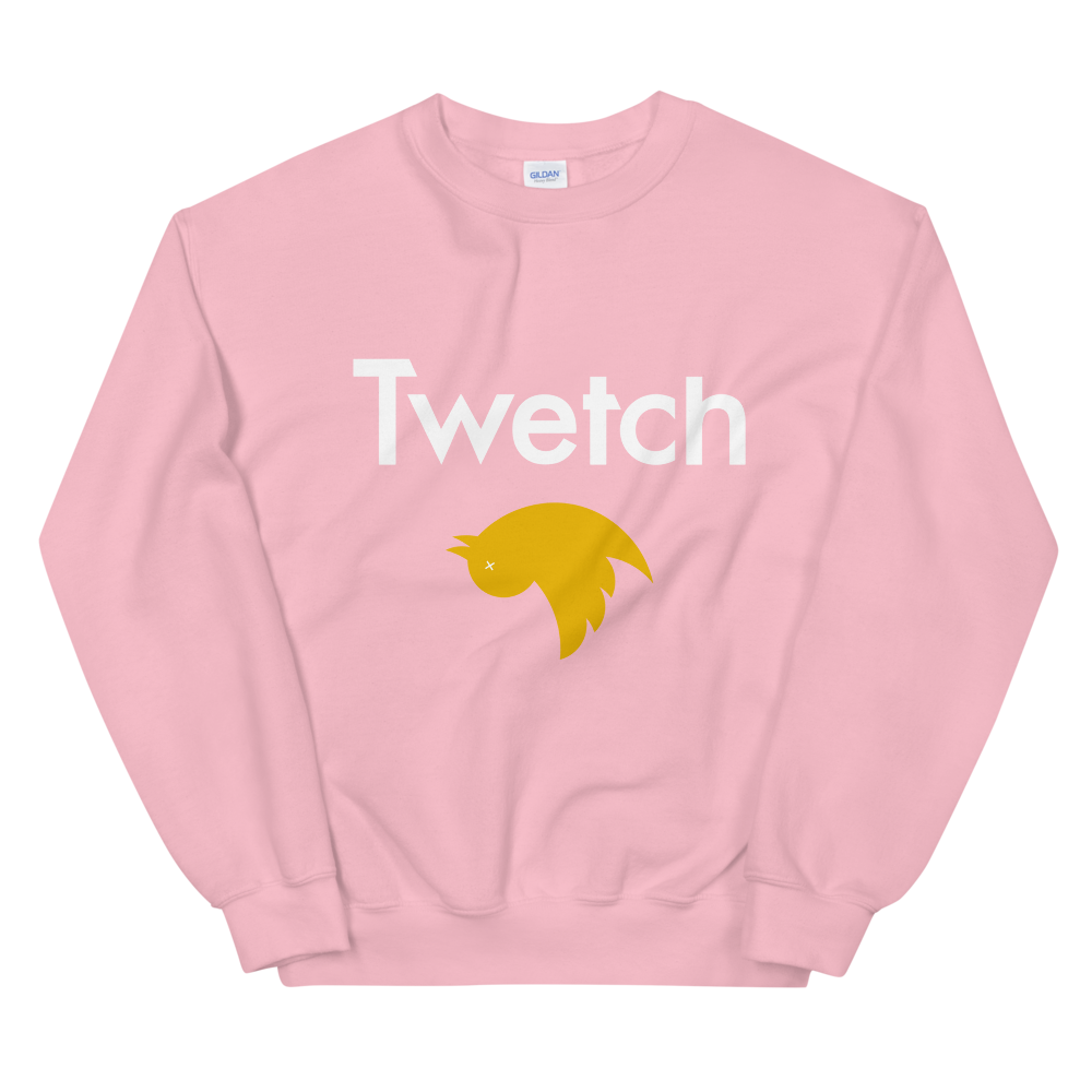 Twetch Sweatshirt Light Pink S - zeroconfs