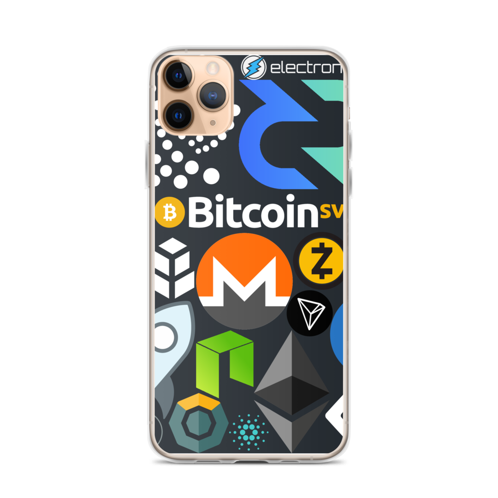 Crypto Calling iPhone Case iPhone 11 Pro Max  - zeroconfs